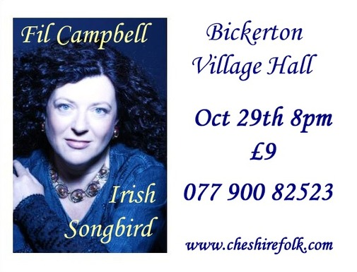 Folk Set In Sandstone present Fil Campbell Irish Songbird