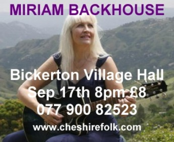 Folk Set In Sandstone present Miriam Backhouse