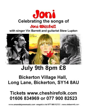 JONI Celebrating the songs of Joni Mitchell